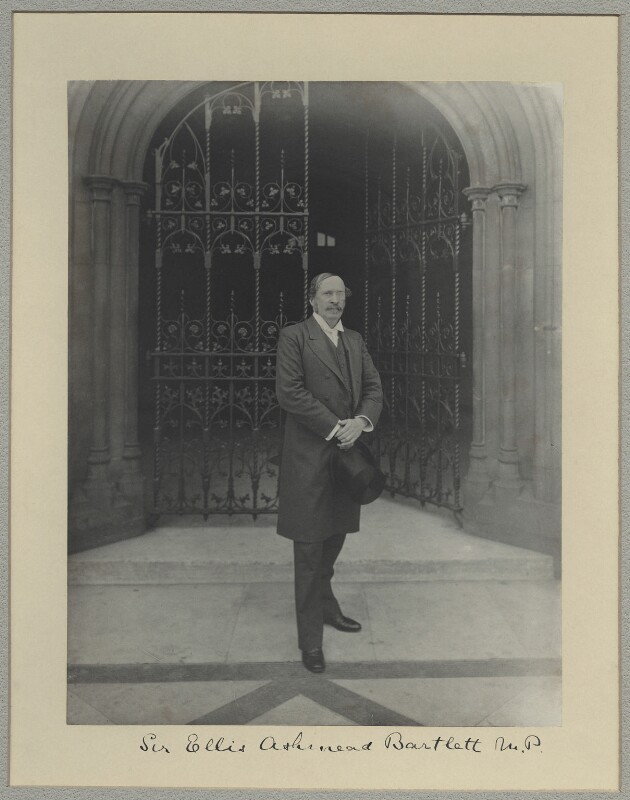 Sir Ellis Ashmead-Bartlett, by Benjamin Stone, 31 December 1897 - NPG x8299 - © National Portrait Gallery, London