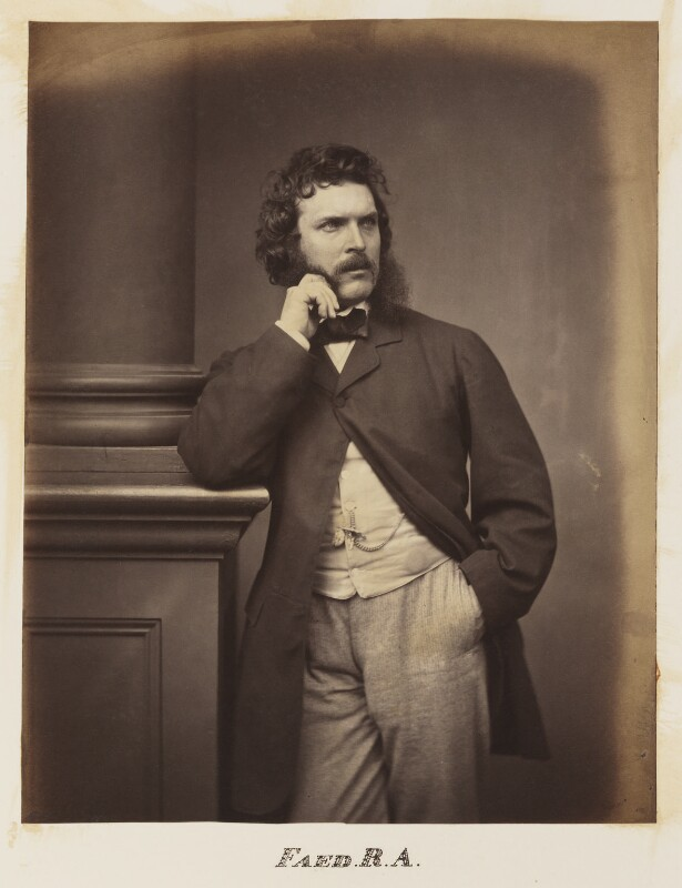 Thomas Faed, by Maull & Polyblank, late 1850s? - NPG Ax27702 - © National Portrait Gallery, London