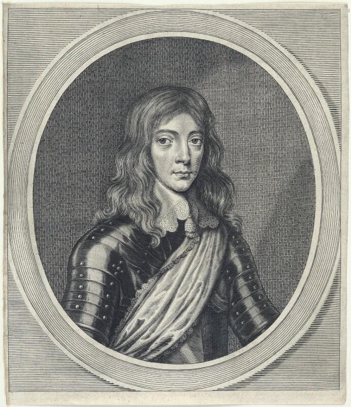 King James II, by William Faithorne, 1640s-1650s - NPG D22794 - © National Portrait Gallery, London