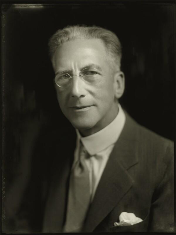 Spencer Stuart Dickson, by Bassano Ltd, 9 June 1933 - NPG x150893 - © National Portrait Gallery, London