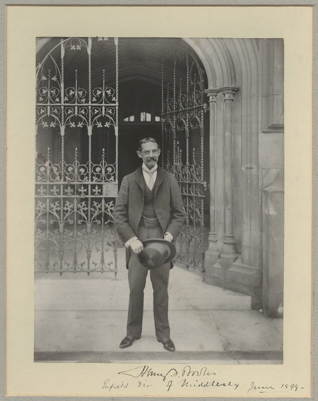 Sir Henry Ferryman Bowles, 1st Bt, by Benjamin Stone, June 1899 - NPG x8830 - © National Portrait Gallery, London