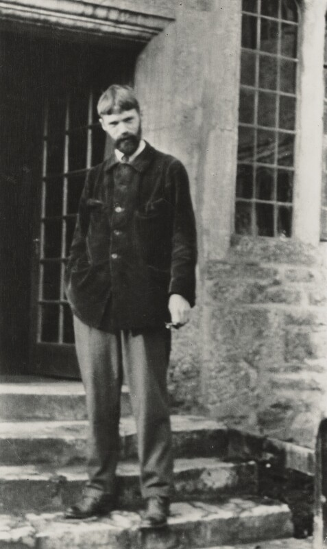 D.H. Lawrence, by Lady Ottoline Morrell, 29 November 1915 - NPG x140423 - © National Portrait Gallery, London