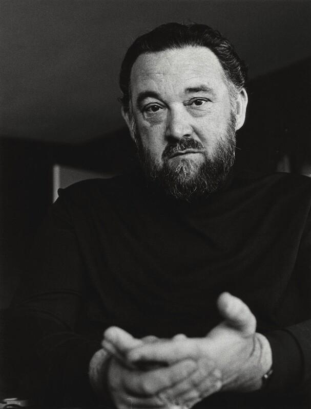Michael Flanders, by Godfrey Argent, 15 October 1969 - NPG x165904 - © National Portrait Gallery, London