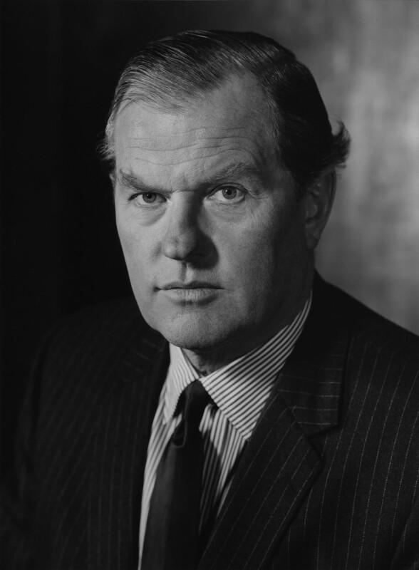 Sir John Grandy, by Godfrey Argent, 10 December 1969 - NPG x165908 - © National Portrait Gallery, London
