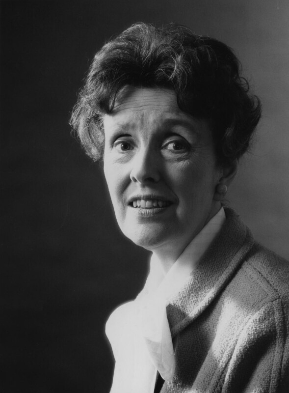 Joyce Grenfell, by Godfrey Argent, 6 May 1969 - NPG x165912 - © National Portrait Gallery, London