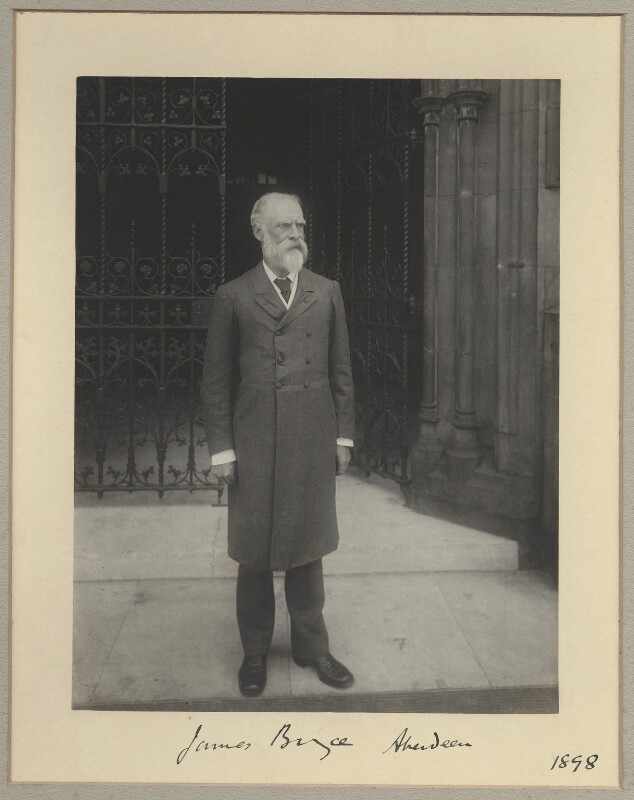 James Bryce, 1st Viscount Bryce, by Benjamin Stone, 1898 - NPG x8919 - © National Portrait Gallery, London
