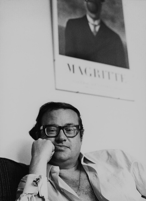 John Mortimer, by Godfrey Argent, 8 July 1969 - NPG x165953 - © National Portrait Gallery, London