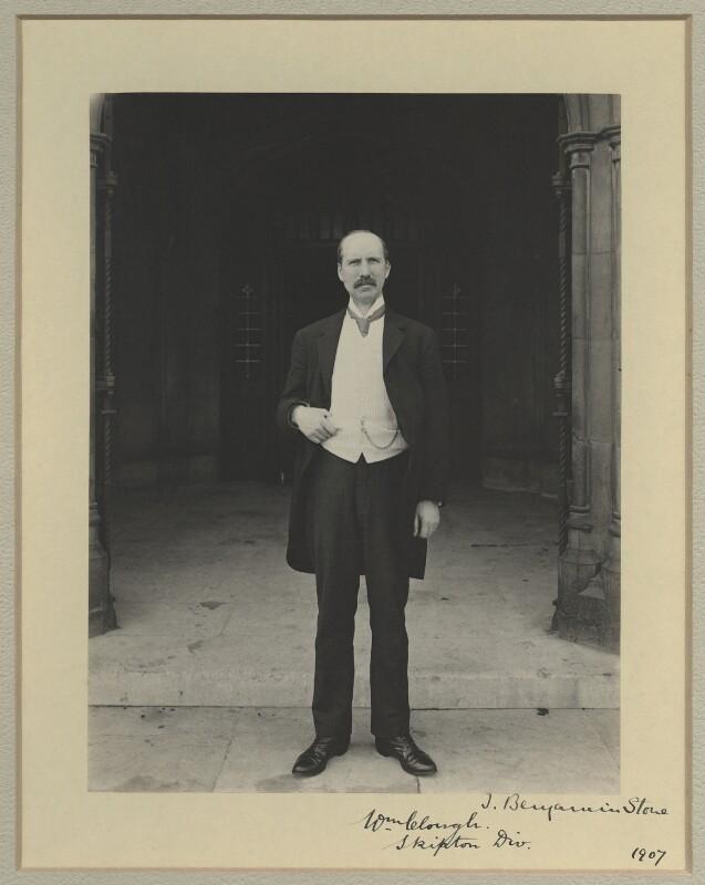 William Clough, by Benjamin Stone, 1907 - NPG x9265 - © National Portrait Gallery, London