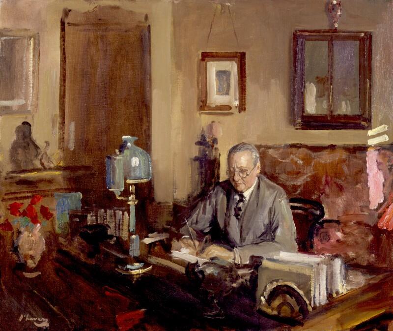 Edward Knoblock, by Sir John Lavery, circa 1930 - NPG 6471 - © National Portrait Gallery, London