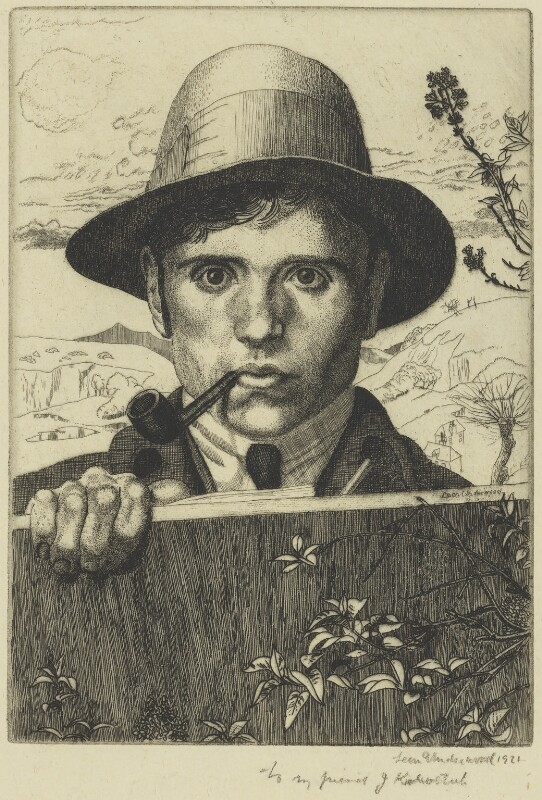 Leon Underwood, by Leon Underwood, 1921 - NPG 6472 - © National Portrait Gallery, London
