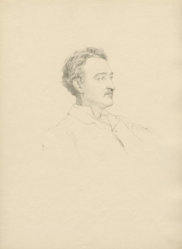 Cecil John Rhodes, after (Marion Margaret) Violet Manners (née Lindsay), Duchess of Rutland, 1898 - NPG D23387 - © National Portrait Gallery, London