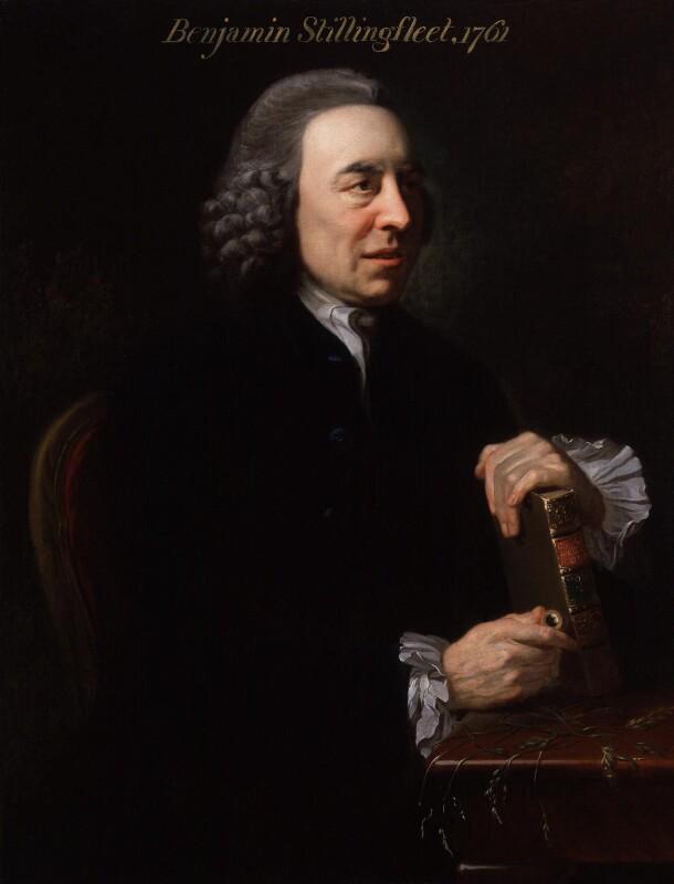 Benjamin Stillingfleet, by Johan Joseph Zoffany, circa 1761 -NPG 6477 - © National Portrait Gallery, London