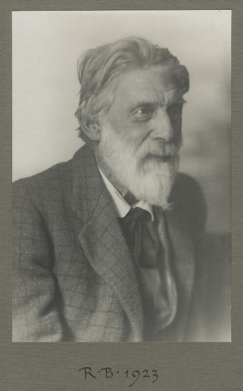 Robert Bridges, by Will Stroud, 1923 - NPG x4299 - © National Portrait Gallery, London