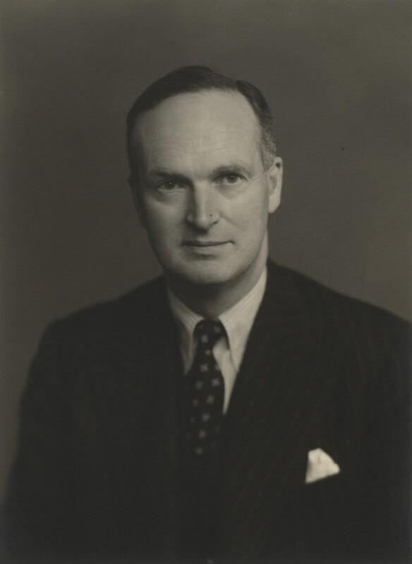 Oliver Shewell Franks, Baron Franks of Headington, by Walter Stoneman, 1954 - NPG x21961 - © National Portrait Gallery, London