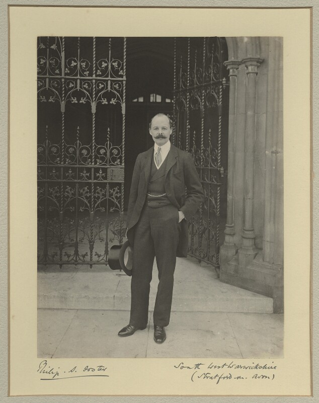 Philip Staveley Foster, by Benjamin Stone, 1901 - NPG x15835 - © National Portrait Gallery, London