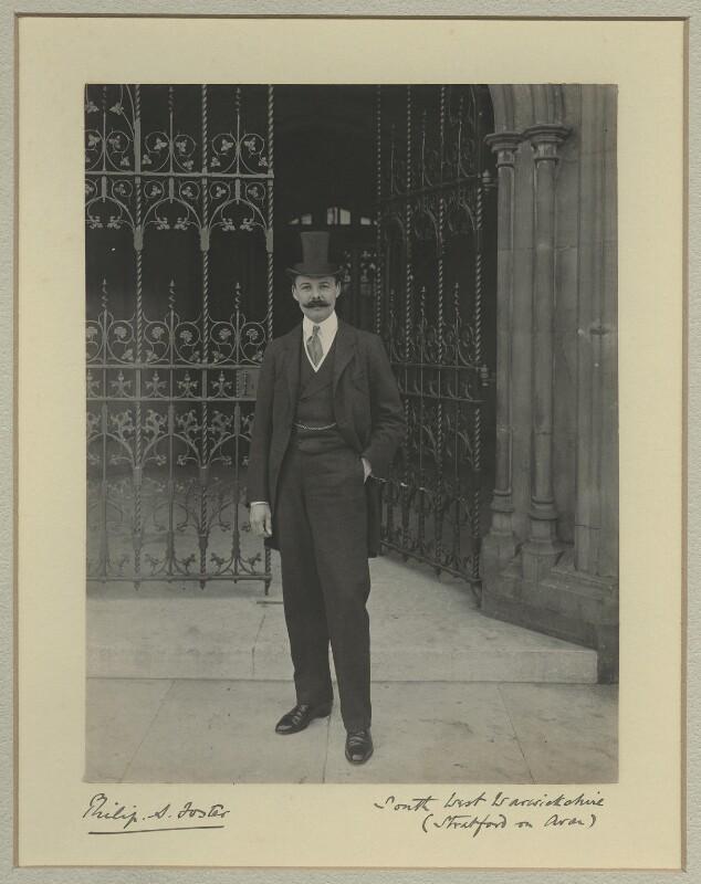 Philip Staveley Foster, by Sir (John) Benjamin Stone, 1901 - NPG x15836 - © National Portrait Gallery, London