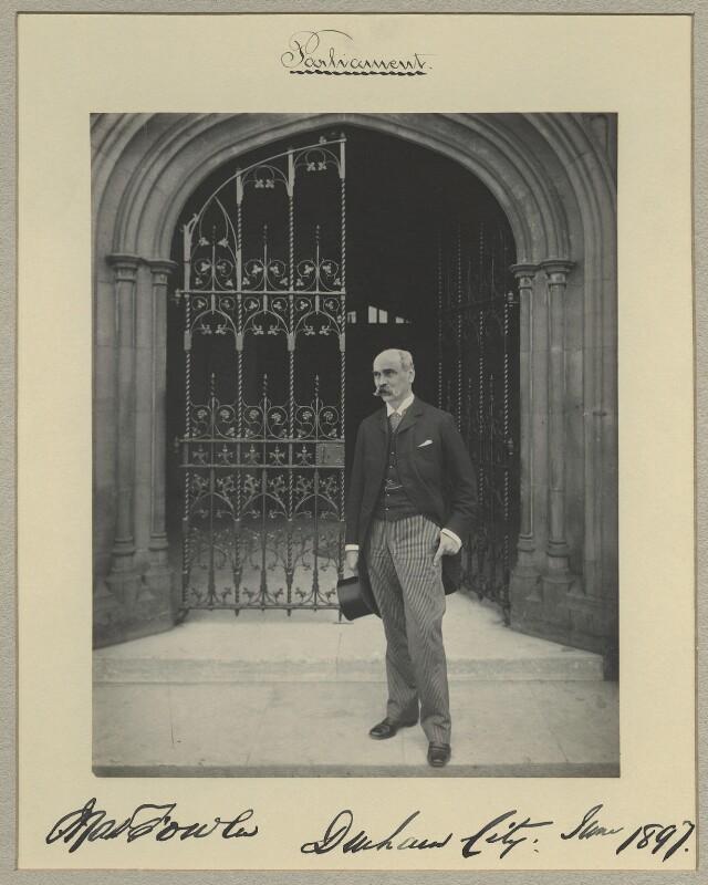 Matthew Fowler, by Benjamin Stone, June 1897 - NPG x16025 - © National Portrait Gallery, London