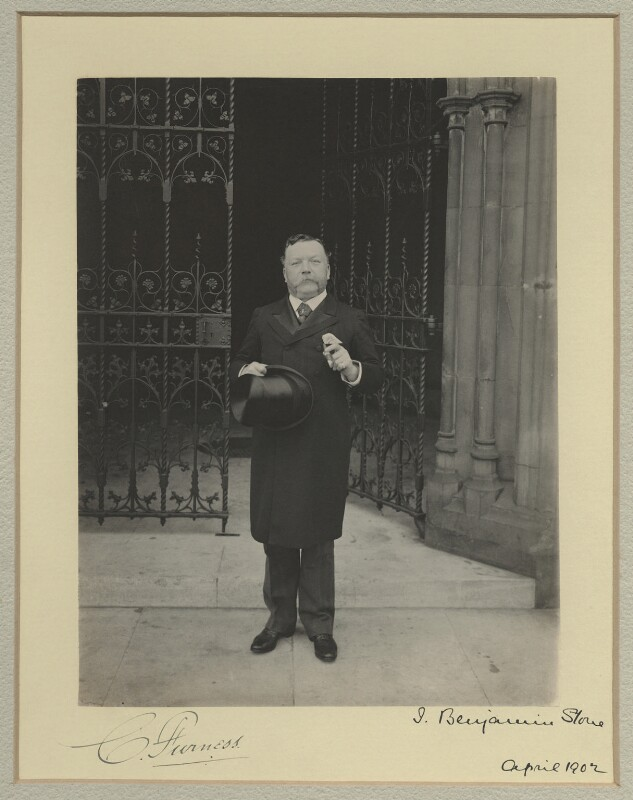 Christopher Furness, 1st Baron Furness, by Benjamin Stone, April 1902 - NPG x16053 - © National Portrait Gallery, London