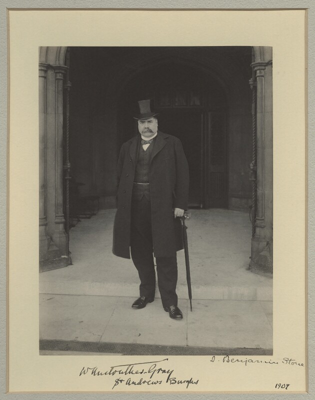 William Anstruther-Gray, by Benjamin Stone, 1907 - NPG x16056 - © National Portrait Gallery, London