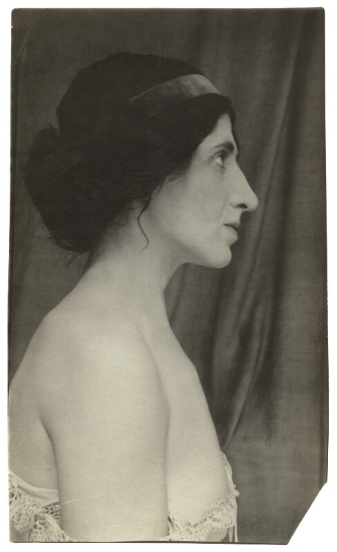 Lady Ottoline Morrell, by Unknown photographer, August-September 1908 - NPG x144209 - © National Portrait Gallery, London