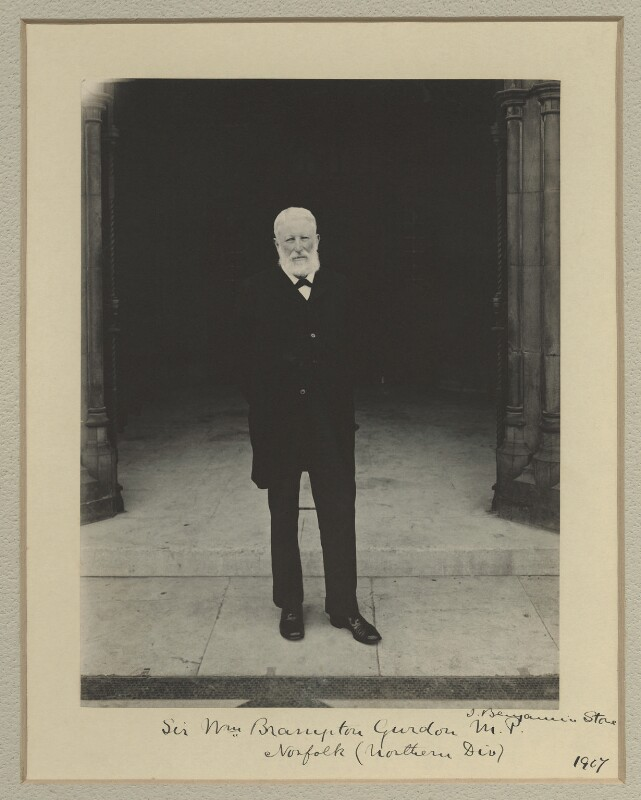 Sir William Brampton Gurdon, by Benjamin Stone, 1907 - NPG x16066 - © National Portrait Gallery, London