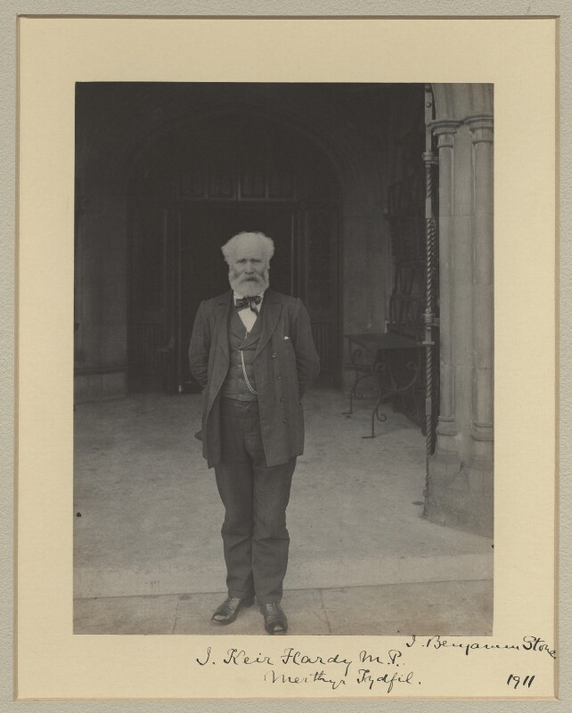 Keir Hardie, by Sir (John) Benjamin Stone, 1911 - NPG x20361 - © National Portrait Gallery, London