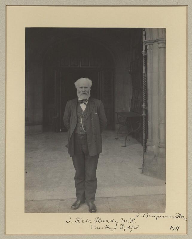 Keir Hardie, by Sir (John) Benjamin Stone, 1911 - NPG x20361 - © National Portrait Gallery, London