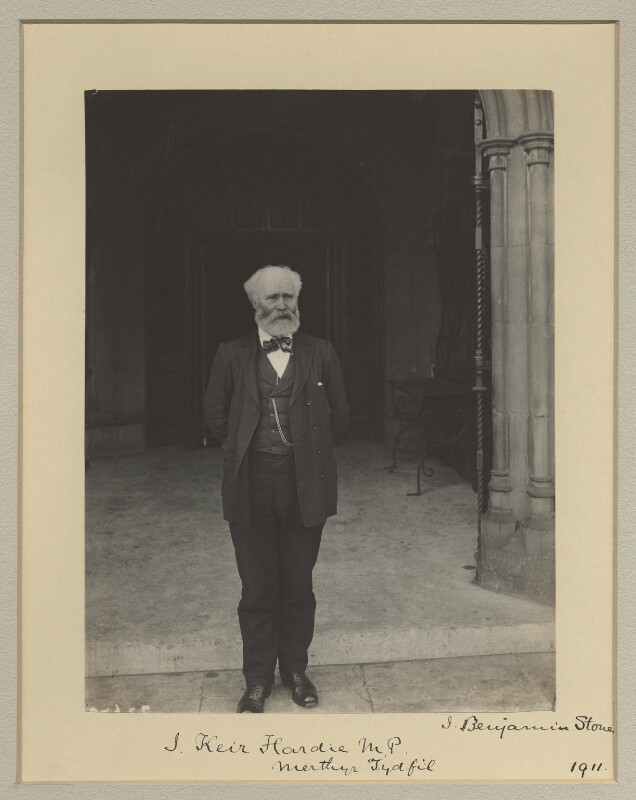 Keir Hardie, by Benjamin Stone, 1911 - NPG x1097 - © National Portrait Gallery, London