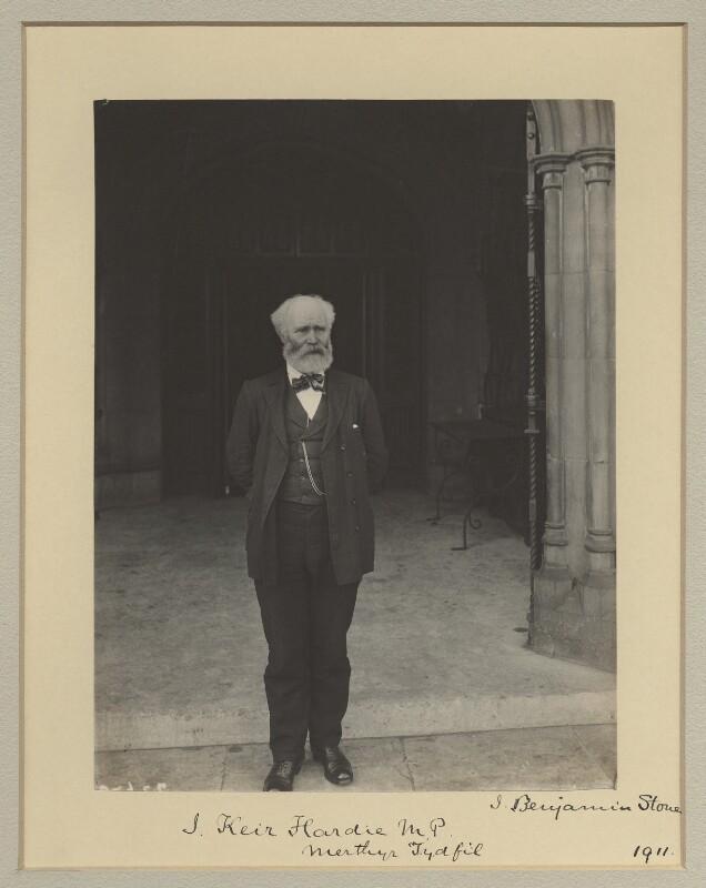 Keir Hardie, by Sir (John) Benjamin Stone, 1911 - NPG x1097 - © National Portrait Gallery, London