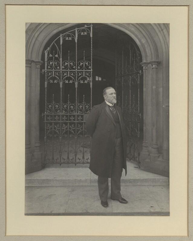 Sir John Henniker Heaton, 1st Bt, by Benjamin Stone, 1897 - NPG x20379 - © National Portrait Gallery, London