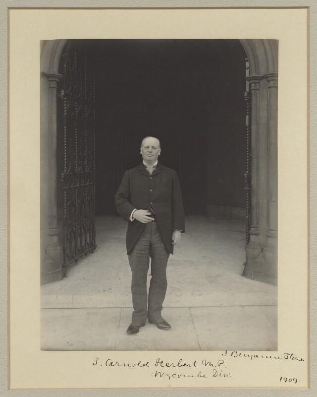 (Thomas) Arnold Herbert, by Benjamin Stone, 1909 - NPG x20388 - © National Portrait Gallery, London