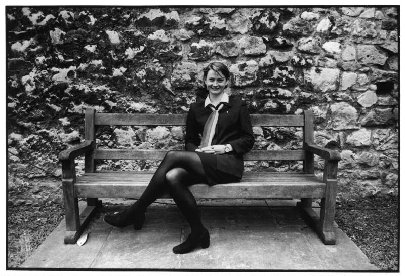 Yvette Cooper, by Victoria Carew Hunt, 1998 - NPG x88082 - © Victoria Carew Hunt / National Portrait Gallery, London
