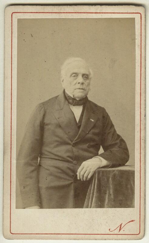 Daniel Auber, by Nadar (Gaspard Félix Tournachon), circa 1865 - NPG x5802 - © National Portrait Gallery, London