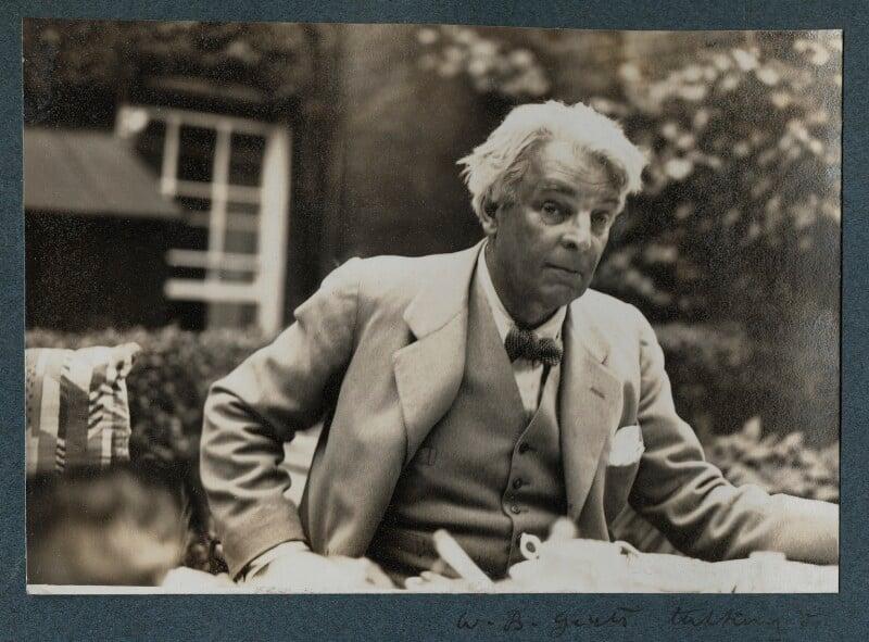 W.B. Yeats, by Lady Ottoline Morrell, 1935 - NPG Ax143873 - © National Portrait Gallery, London