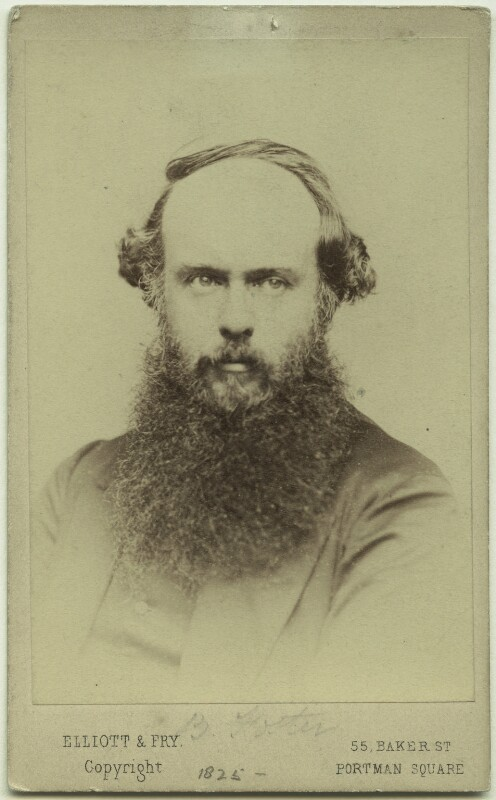 (Myles) Birket Foster, by Elliott & Fry, mid-late 1860s - NPG x128684 - © National Portrait Gallery, London