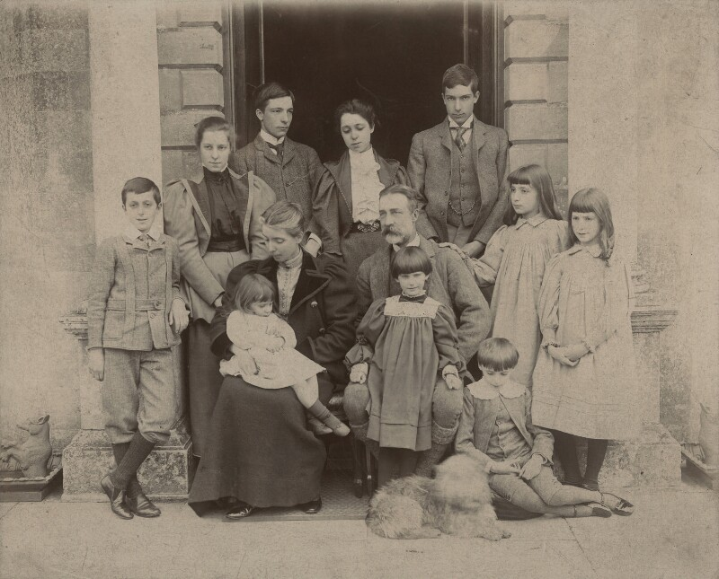 The Meinertzhagen Family, by Unknown photographer, mid 1890s - NPG x128691 - © National Portrait Gallery, London