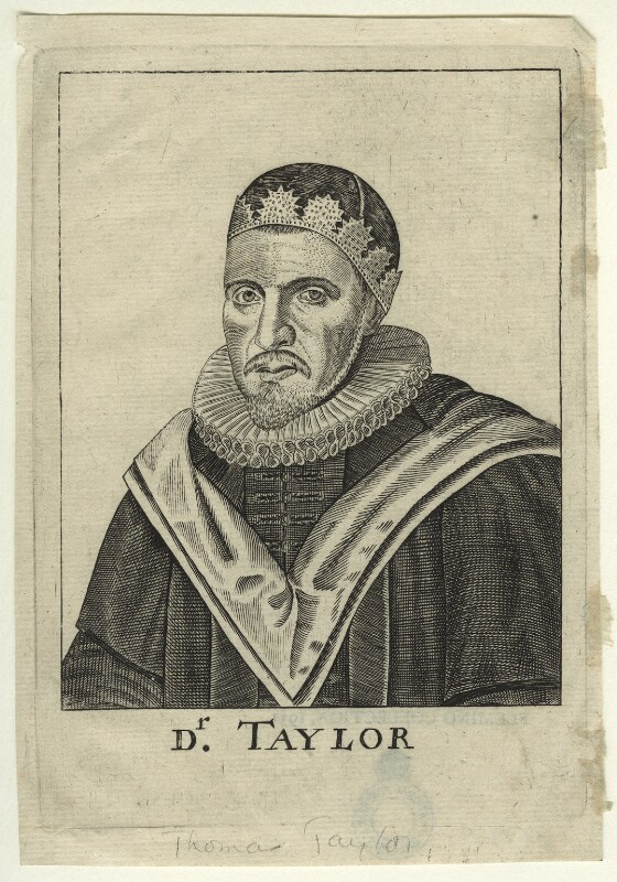 Thomas Taylor, after Unknown artist, mid to late 17th century - NPG D23439 - © National Portrait Gallery, London
