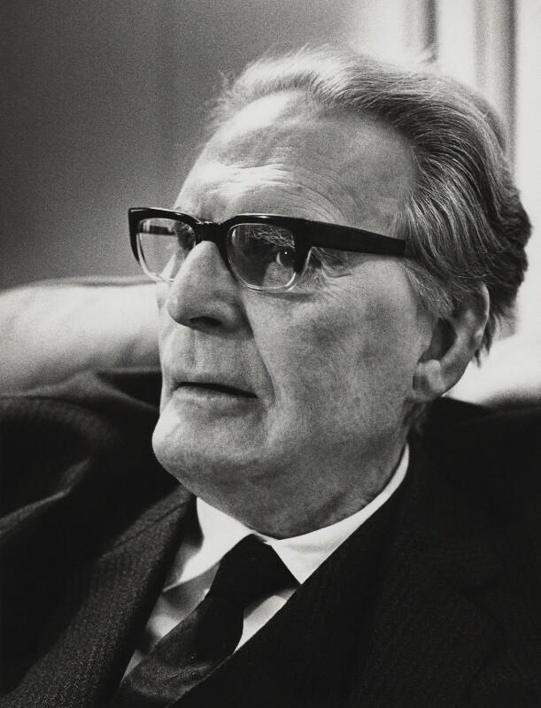 Otto Klemperer, by Godfrey Argent, 4 February 1969 - NPG x166011 - © National Portrait Gallery, London