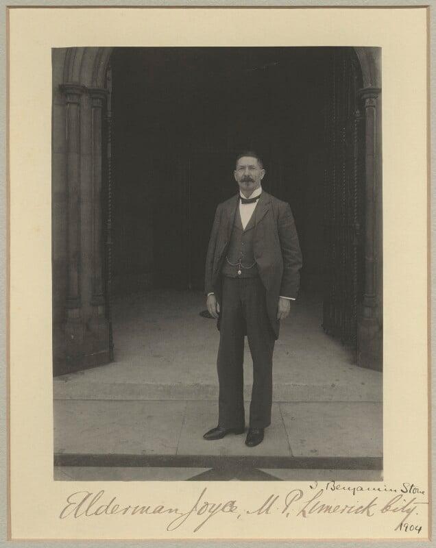 Michael Joyce, by Sir (John) Benjamin Stone, 1904 - NPG x29032 - © National Portrait Gallery, London