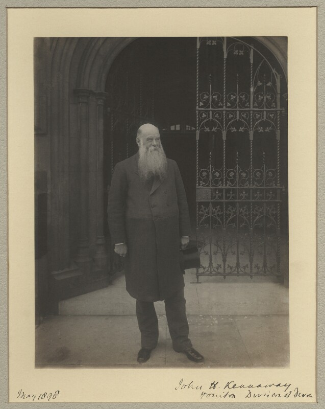 Sir John Henry Kennaway, 3rd Bt, by Sir (John) Benjamin Stone, May 1898 - NPG x29038 - © National Portrait Gallery, London