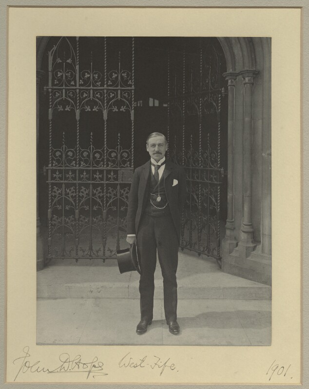 John Deans Hope, by Benjamin Stone, 1901 - NPG x20407 - © National Portrait Gallery, London