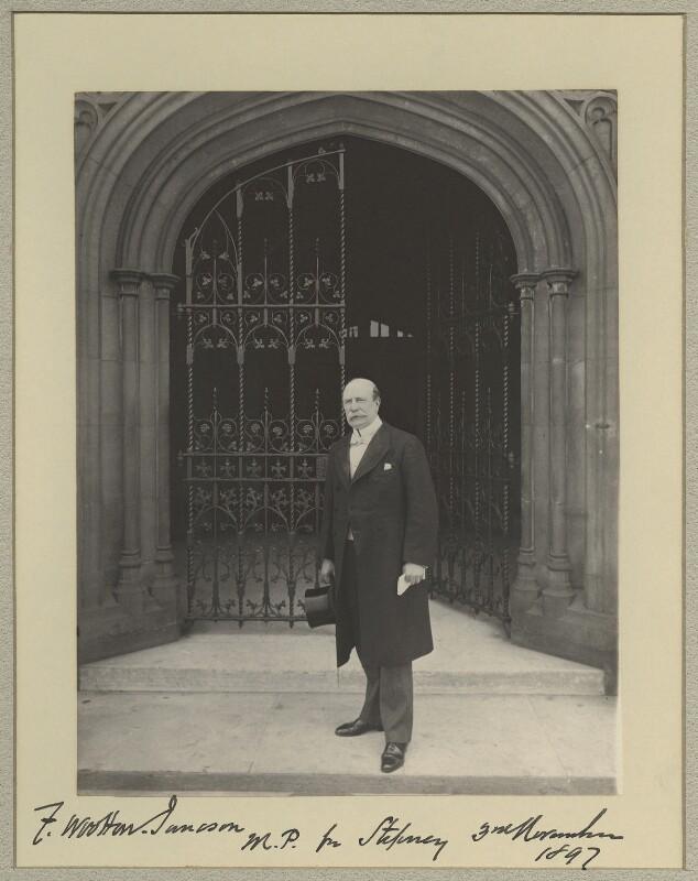 Frederick Wootton Isaacson, by Sir (John) Benjamin Stone, 3 November 1897 - NPG x20425 - © National Portrait Gallery, London