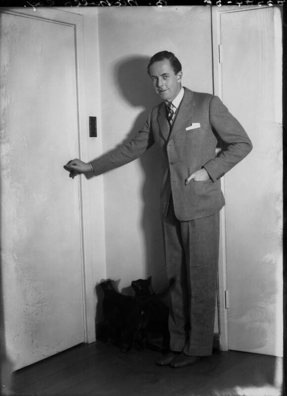 Beverley Nichols, by Bassano Ltd, 16 November 1937 - NPG x26716 - © National Portrait Gallery, London