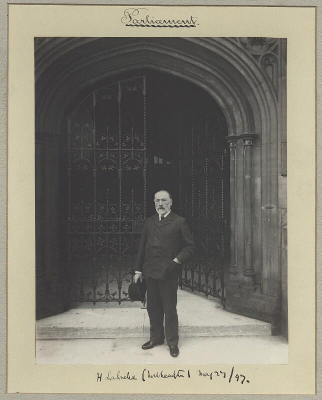 Henry du Pré Labouchère, by Benjamin Stone, 27 May 1897 - NPG x31500 - © National Portrait Gallery, London