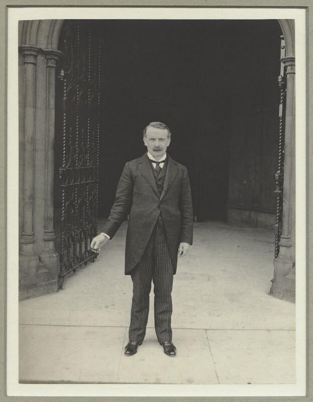 David Lloyd George, by Benjamin Stone, July 1909 - NPG x9184 - © National Portrait Gallery, London