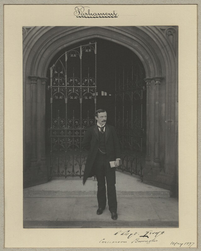 David Lloyd George, by Sir (John) Benjamin Stone, May 1897 - NPG x16032 - © National Portrait Gallery, London
