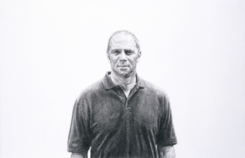 Steve Redgrave, by Dryden Goodwin, 2006 - NPG 6767 - © National Portrait Gallery, London