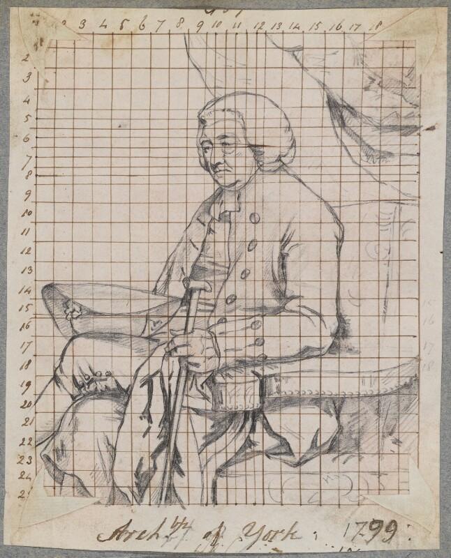 William Markham, by Henry Bone, after  John Hoppner, 1799 (1798) - NPG D17276 - © National Portrait Gallery, London