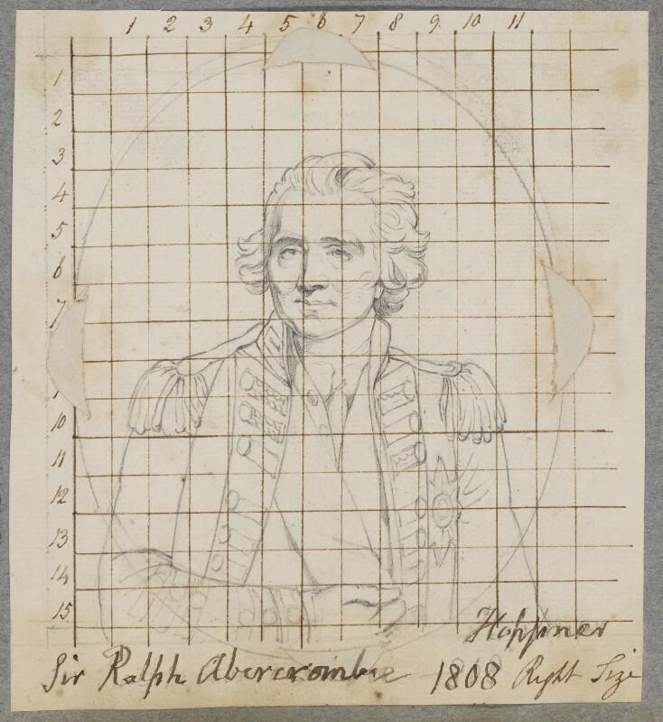Sir Ralph Abercromby, by Henry Bone, after  John Hoppner, 1808 (1798) - NPG D17277 - © National Portrait Gallery, London