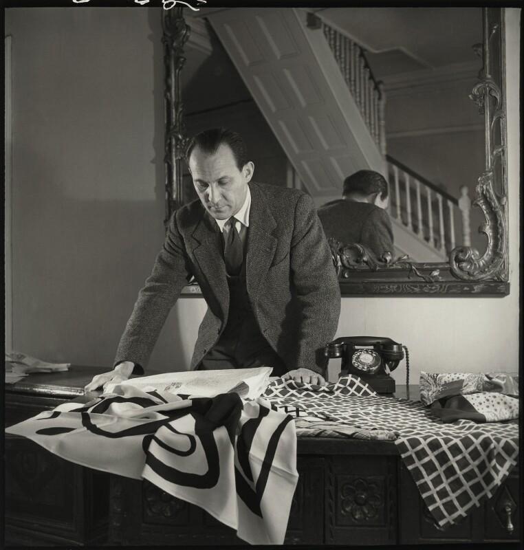 Zika Ascher, by John Gay, February 1949 - NPG x128696 - © National Portrait Gallery, London